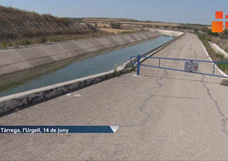 Un nen de set anys en estat greu després d'estar a punt d'ofegar-se al canal Segarra-Garrigues a Tàrrega