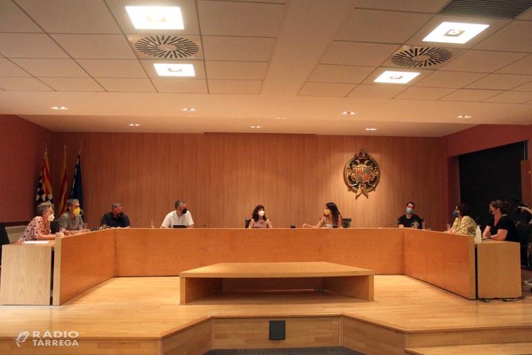 Reunió de l'Equip de Govern de Tàrrega amb el nou delegat del Govern a Lleida, Bernat Solé