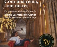 'Com una reina, com un rei', un carnet únic que promou la visita conjunta als tres monestirs reials de la Ruta del Cister