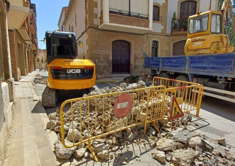 S'inicien les obres a la Raval de Puigverd