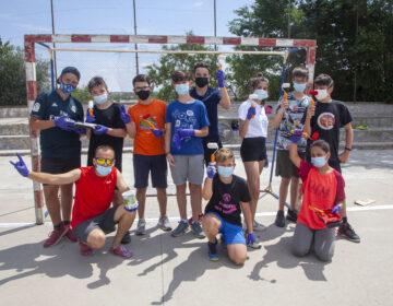 Joves de Tàrrega participen en la millora d'espais i equipaments públics de la ciutat
