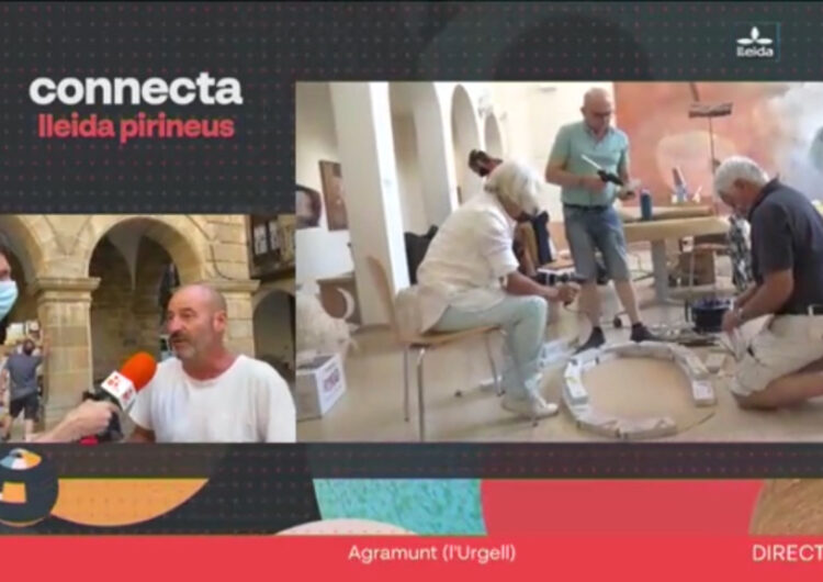 El programa Connecta Lleida Pirineus present al Curs Art i Territori d'Agramunt