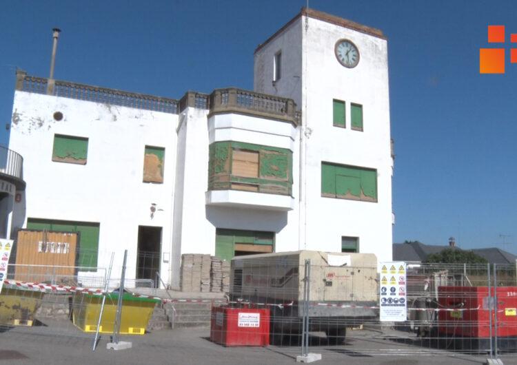 En procés les obres de rehabilitació de l'antic edifici comercial i residencial de Cal Trepat de Tàrrega