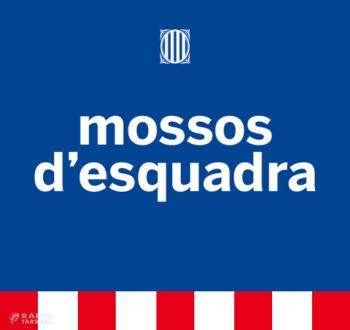 Els Mossos d'Esquadra detenen 3 homes que acabaven de robar a les oficines d'una instal·lació esportiva de Tàrrega