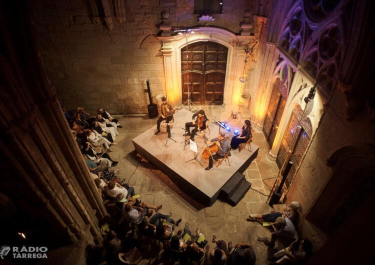 El Festival 'La Pedra Parla' torna aquest cap de setmana al Reial Monestir de Santa Maria de Vallbona amb tres concerts