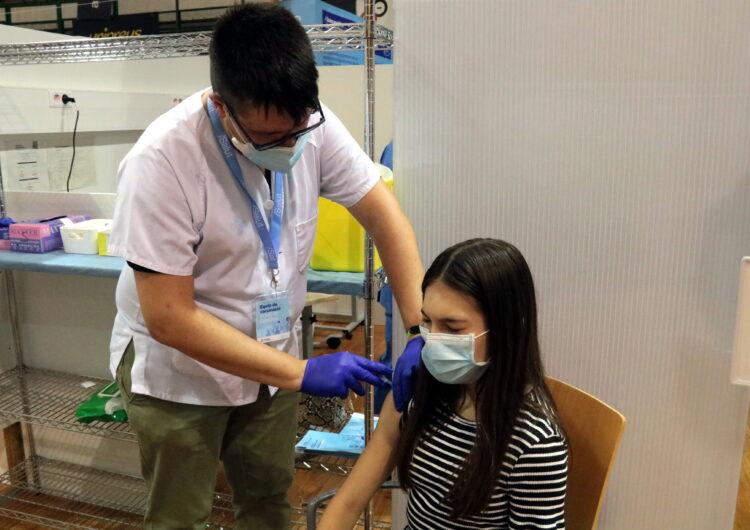 Un 22,6% de la població d'entre 12 i 15 anys ha rebut la primera dosi del vaccí a la Regió Sanitària de Lleida