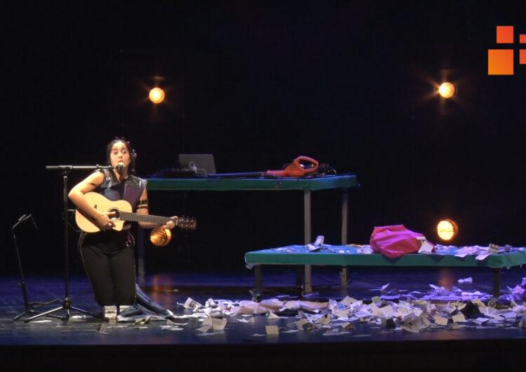 Glòria Ribera porta el seu espectacle de cuplet a FiraTàrrega