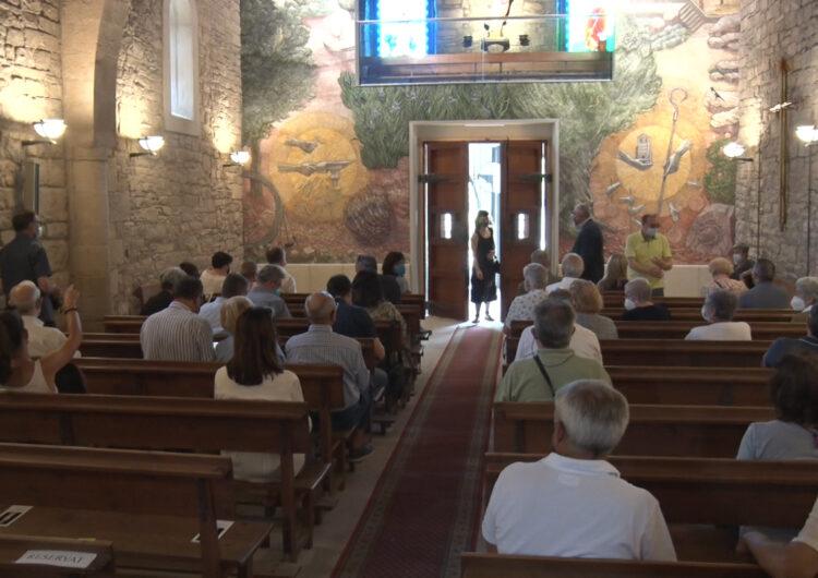Els frescos de Josep Minguell i la inauguració de la seu de l'Associació dels Amics de l'Arbre donen el tret de sortida a la diada de Sant Magí