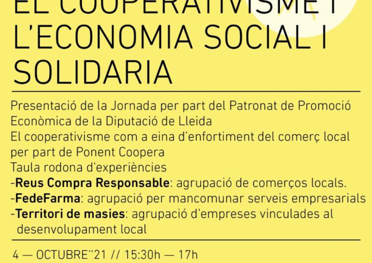 Ponent Coopera vol enfortir el comerç local amb el Cooperativisme i l'Economia Social i Solidària