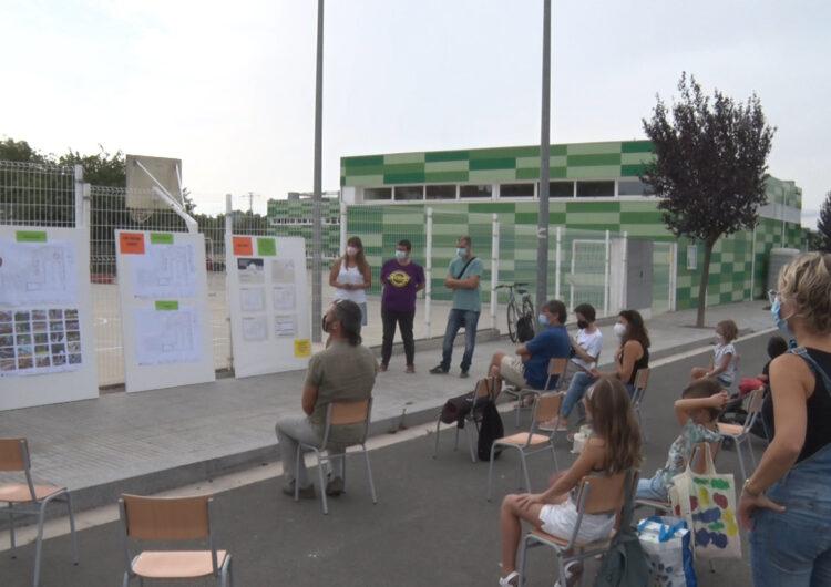 Ja són públics els resultats del procés participatiu del 'Projecte Pati' de l'Escola Maria-Mercè Marçal