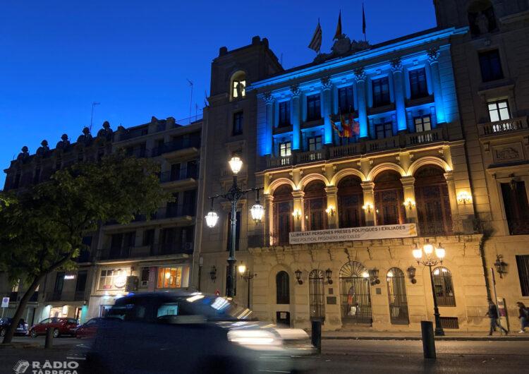 Tàrrega i Bellpuig s'il·luminaran de blau per reconèixer l'Educació Social