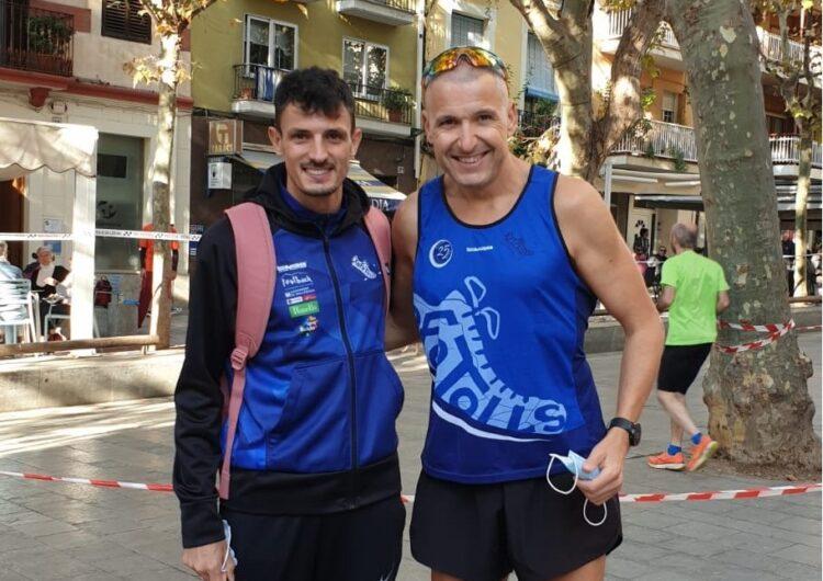 Els atletes Targarins Xavier Badia i Josep Ramon Sanahuja aconsegueixen el 4t i 5è lloc al campionat de Catalunya de Milla Urbana