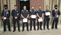Quatre agents de la Policia Local de Tàrrega, distingits amb…