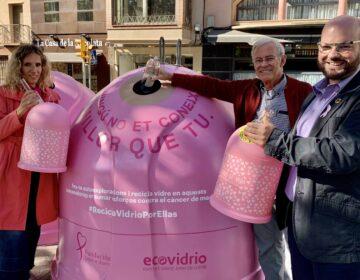 Ecovidrioi el Consell Comarcal de l'Urgell presenten la campanya solidària 'Recicla Vidre per elles' en col·laboració amb la Fundació Sandra Ibarra