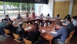 Alba Vergés, es reuneix amb entitats i serveis socials de…