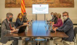 El president Joan Talarn ofereix la Diputació com a garantia…