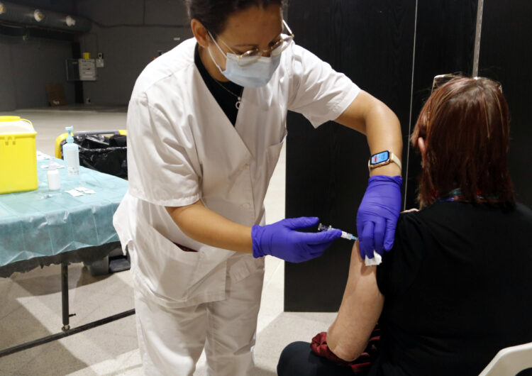Comença a Tàrrega  la vacunació de la grip per a majors de 60 anys o amb risc