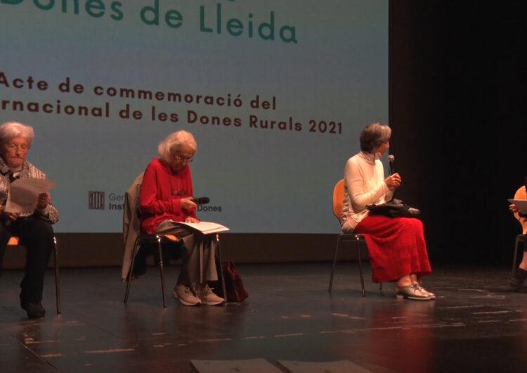 'Dones rurals. Dones de Lleida': 68 dones lleidatanes referents nascudes abans de 1940