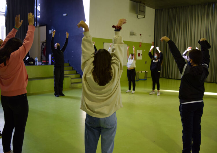 Tallers de percussió corporal i salut emocional a la comarca de l'Urgell